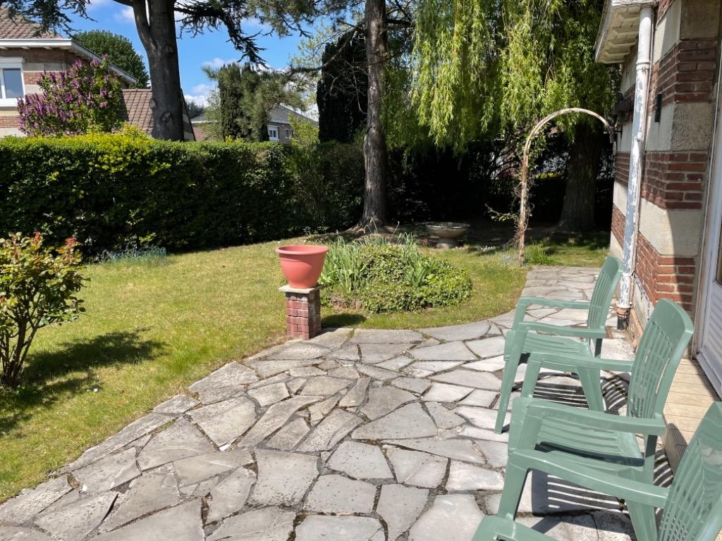 Vente maison 59700 Marcq en baroeul - Les Hautes Loges - Maison semi-mitoyenne, garage et jardin