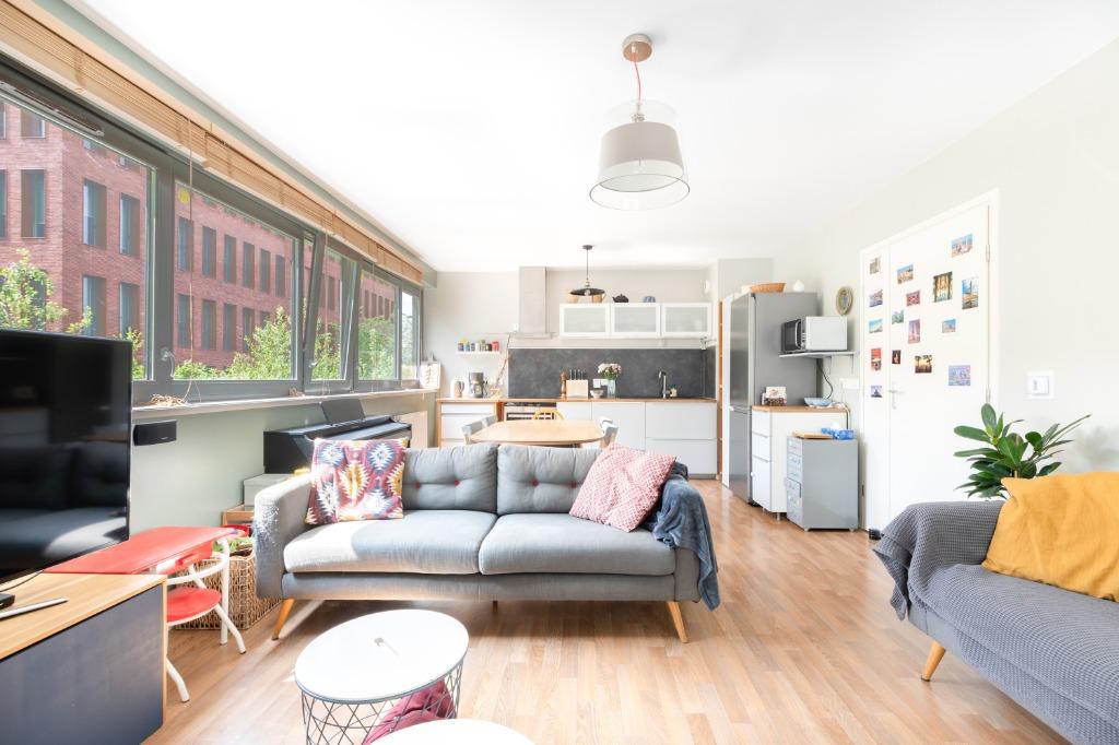 Vente appartement 59000 Lille - Exclusivité, quartier Bois Blancs, T4 avec parking.