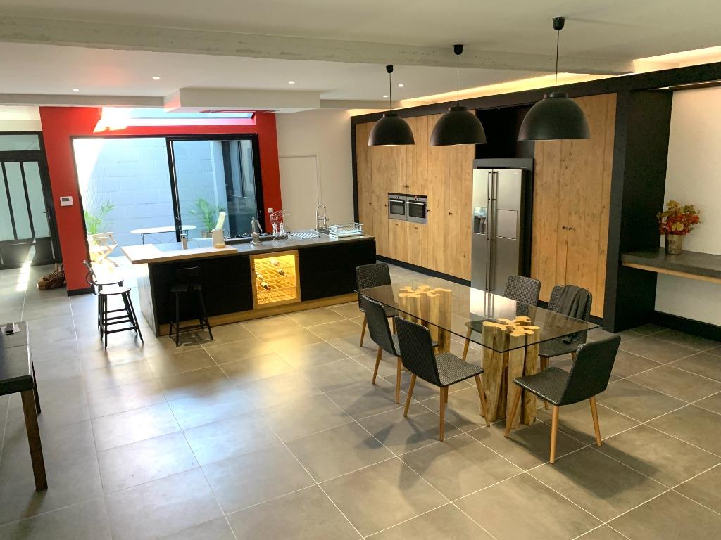 Vente maison - La Madeleine Saint Maur splendide maison style loft garage