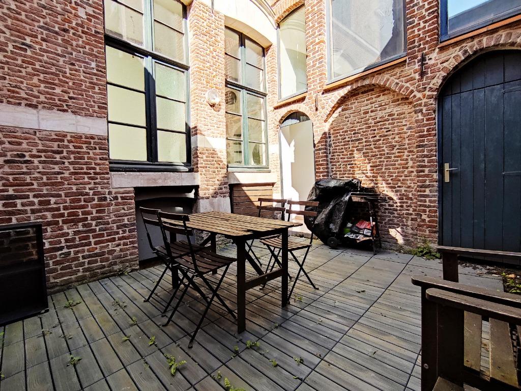 Vente appartement 59000 Lille - Studio Vieux Lille avec terrasse 36m2