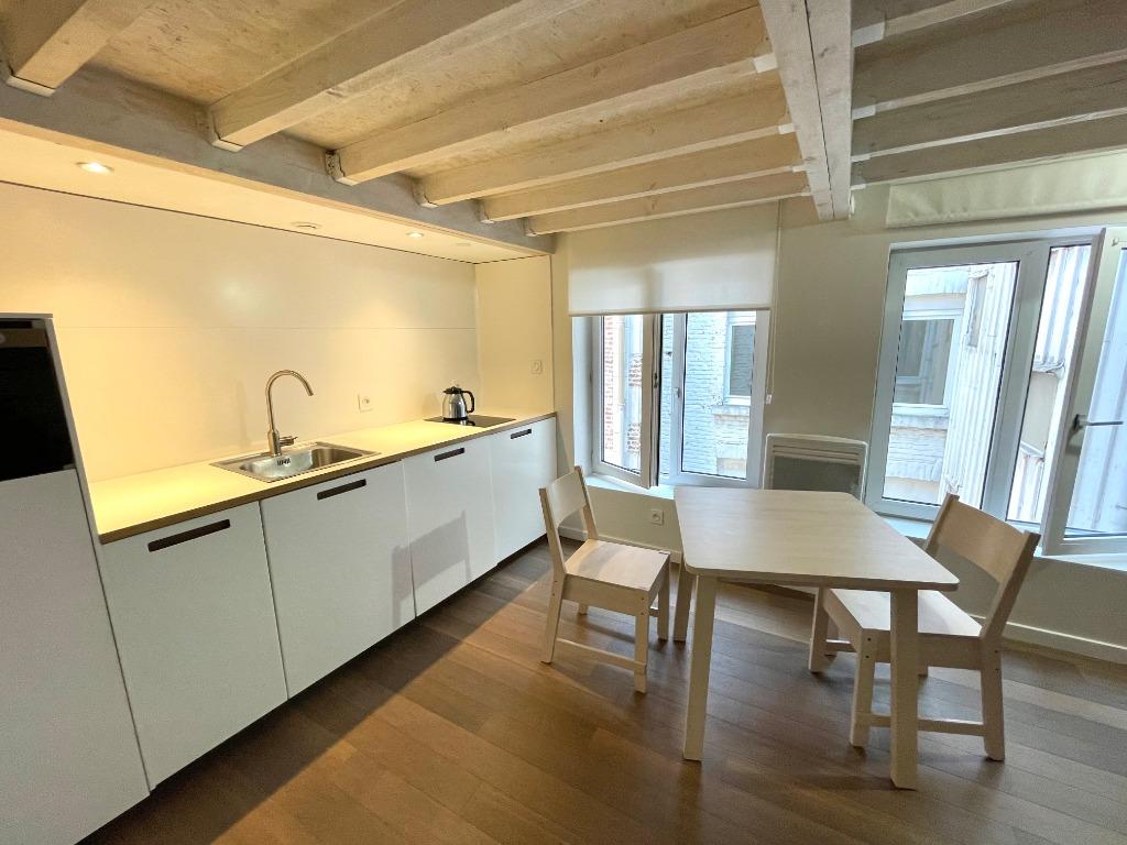 Vente appartement 59000 Lille - Duplex 25m2 Quai du Wault