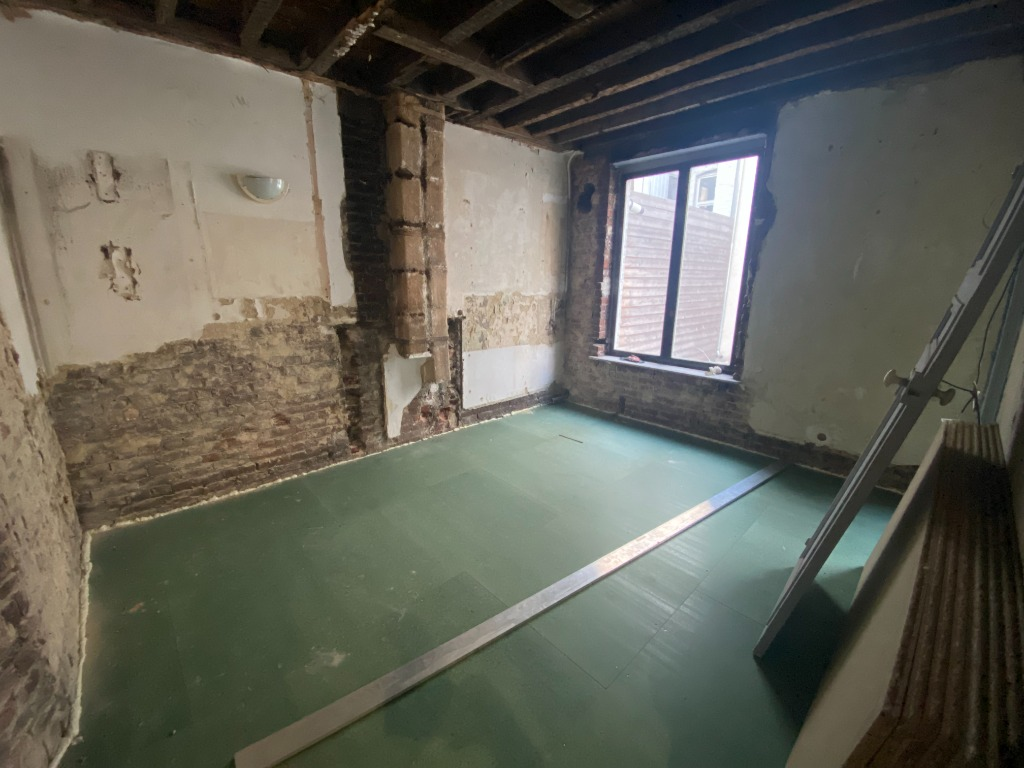 Vente appartement 59000 Lille - République Saint Michel - T2 plateau brut