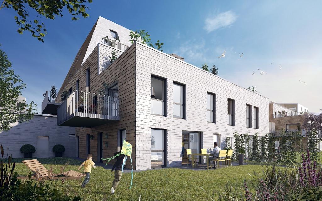 Vente appartement - VILLENEUVE D'ASCQ La Maillerie - Appartement neuf 4 chambres