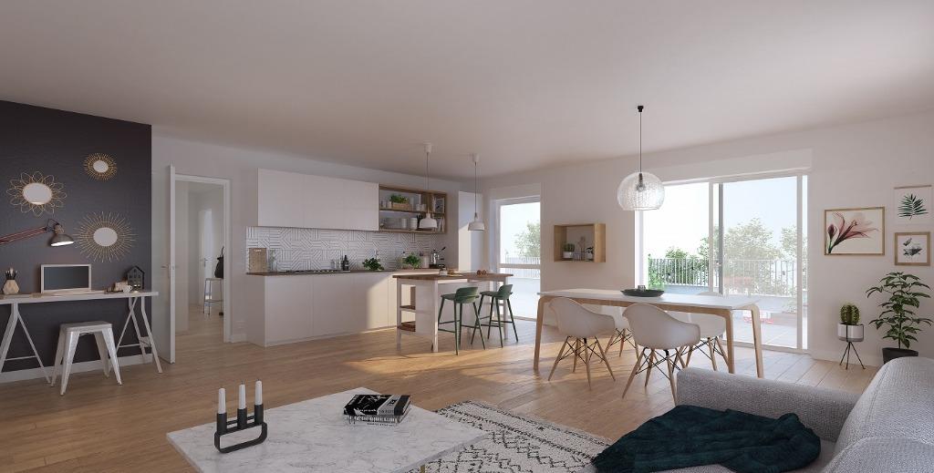 VILLENEUVE D'ASCQ La Maillerie - Appartement neuf 4 chambres
