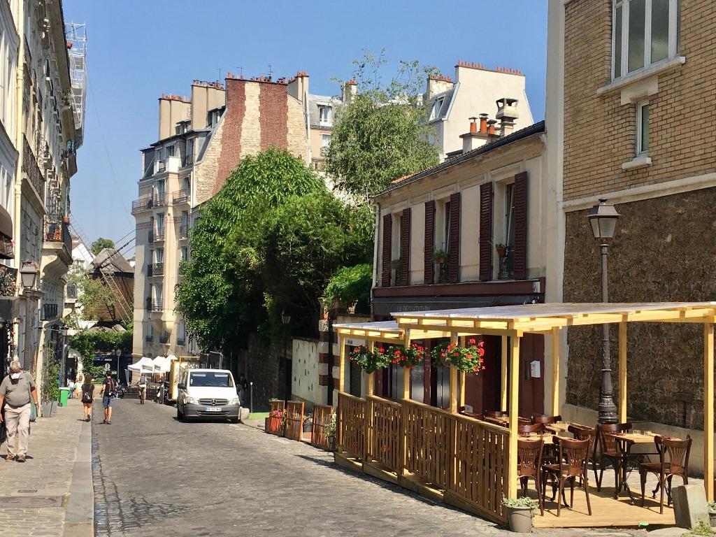 Paris 18 - Village Montmartre - Maison esprit loft, terrasse