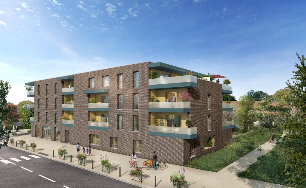 Vente appartement - SECLIN Nouvel'R - T3 Neuf avec Parking