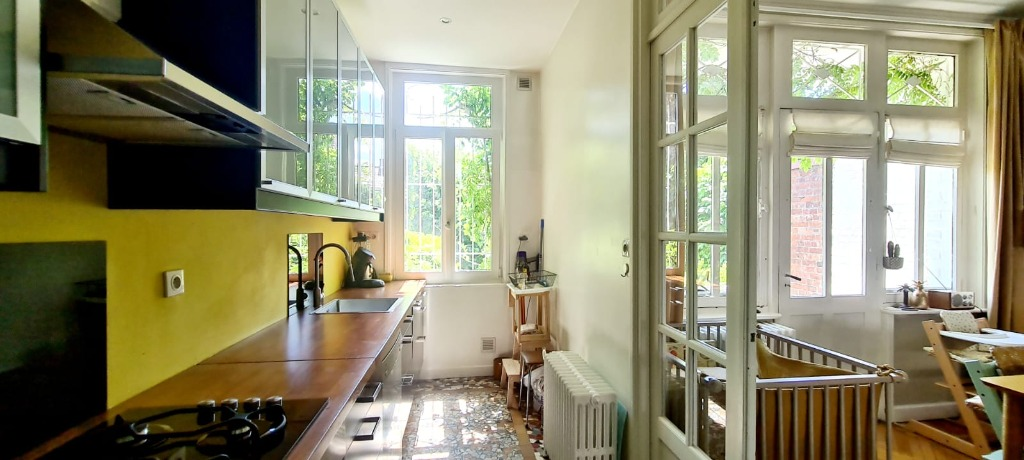 SECTEUR DU TRIEZ : Magnifique maison avec jardin et garage
