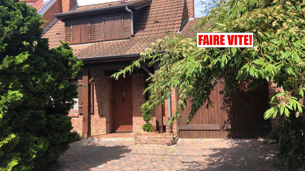 Vente maison 59136 Wavrin - WAVRIN - MAISON FLAMANDE -3 CHAMBRES- JARDIN- GARAGE