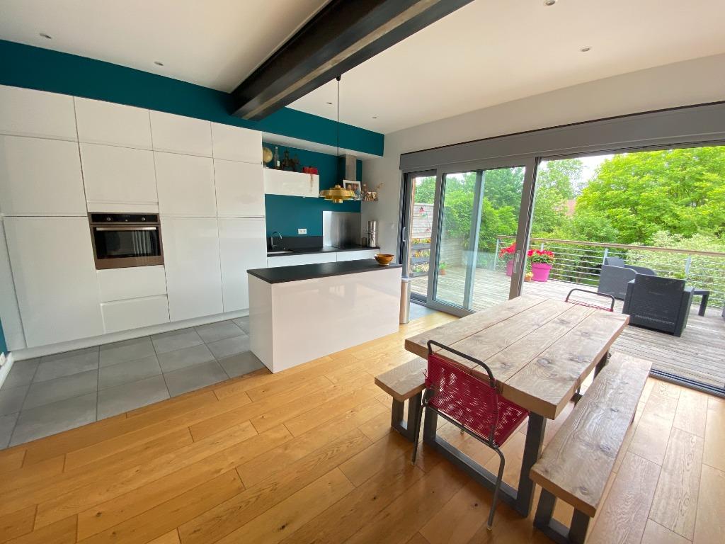 Vente maison - Marcq-en-Baroeul prox triez, bel étage 4 chambres et jardin