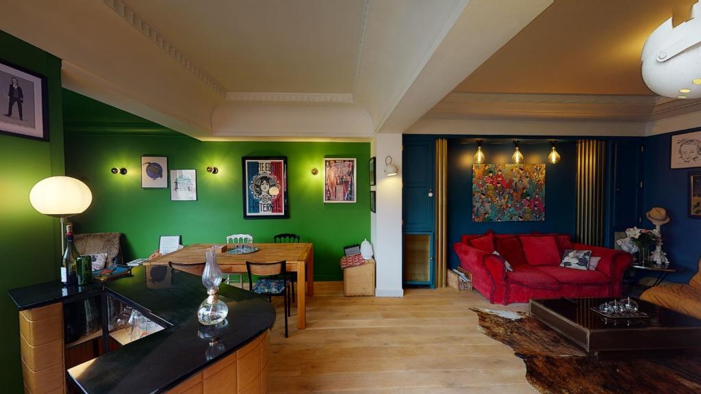 Vente appartement - Lille République, Dernier étage - Duplex  136m² - Terrasse