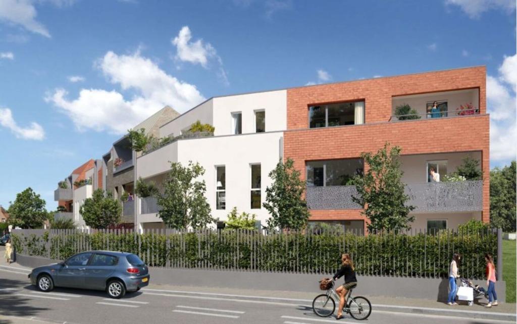 Vente appartement - LAMBERSART - Appartement T2 avec parking Eligible Pinel