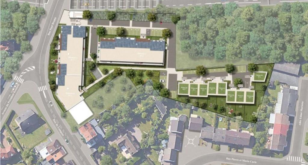 LAMBERSART - Appartement T2 avec parking Eligible Pinel