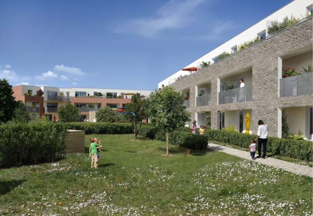 Vente appartement - LAMBERSART - Appartement T4 avec parking Eligible Pinel