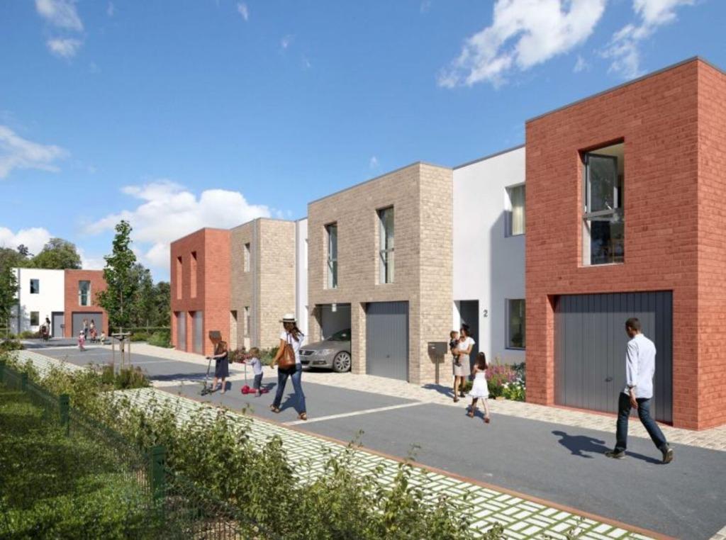 Vente maison - LAMBERSART - Maison 3 chambres et garage