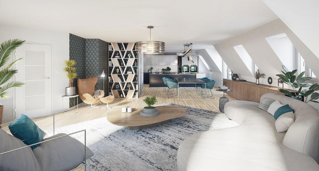 Vente appartement - MARCQ-EN-BAROEUL - PROGRAMME ROMANCES - T5 BATIMENT D1
