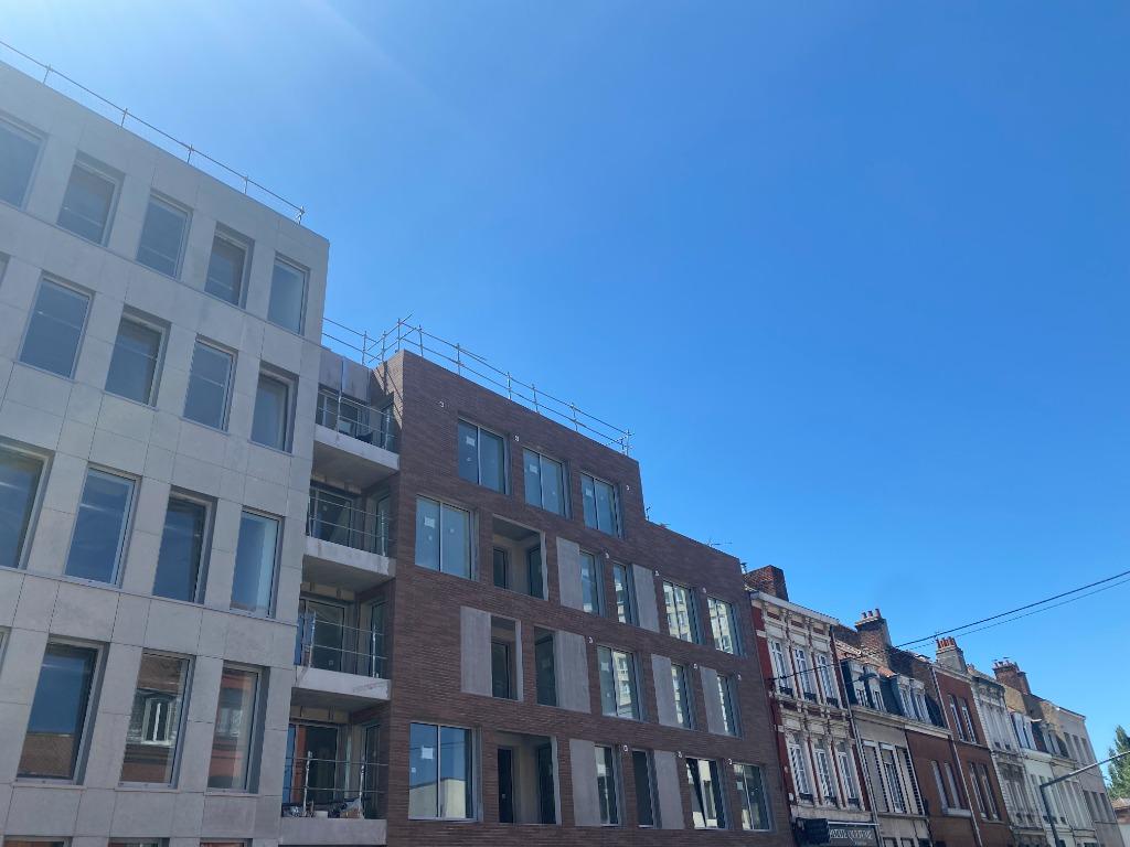 Vente appartement 59000 Lille - T2 de 50 m² avec terrasse