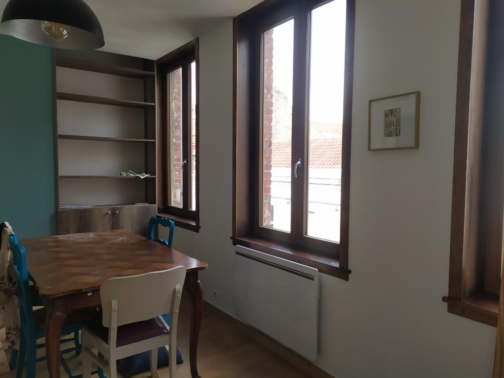 Location appartement 59000 Lille - Vieux lille - Type 2 meublé