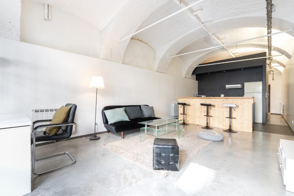 Vente appartement - Lille - Vieux Lille - 2 pièces esprit Loft