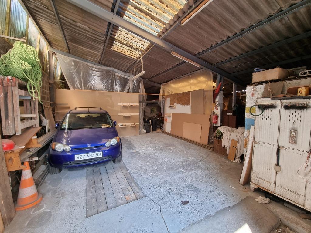 VILLENEUVE D'ASCQ -Appartement T4 avec Jardin + Atelier