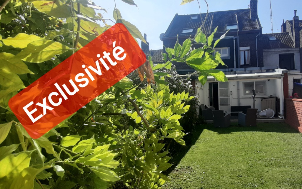 Vente maison 59000 Lille - EXCLUSIVITE .à 5 mn du métro belle 1930, 4 chambres jardin