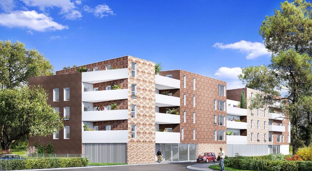Vente appartement 59160 Lomme - T3 neuf avec extérieur