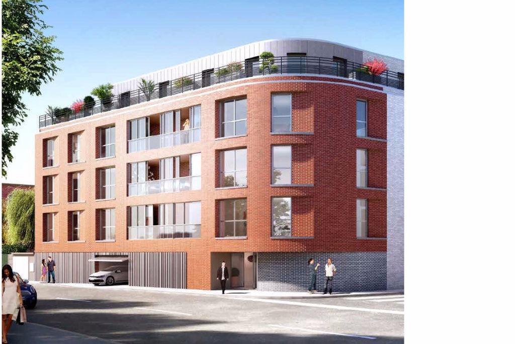 Vente appartement 59110 La madeleine - PINEL Romarin La Madeleine 3 pièces 63,2m2