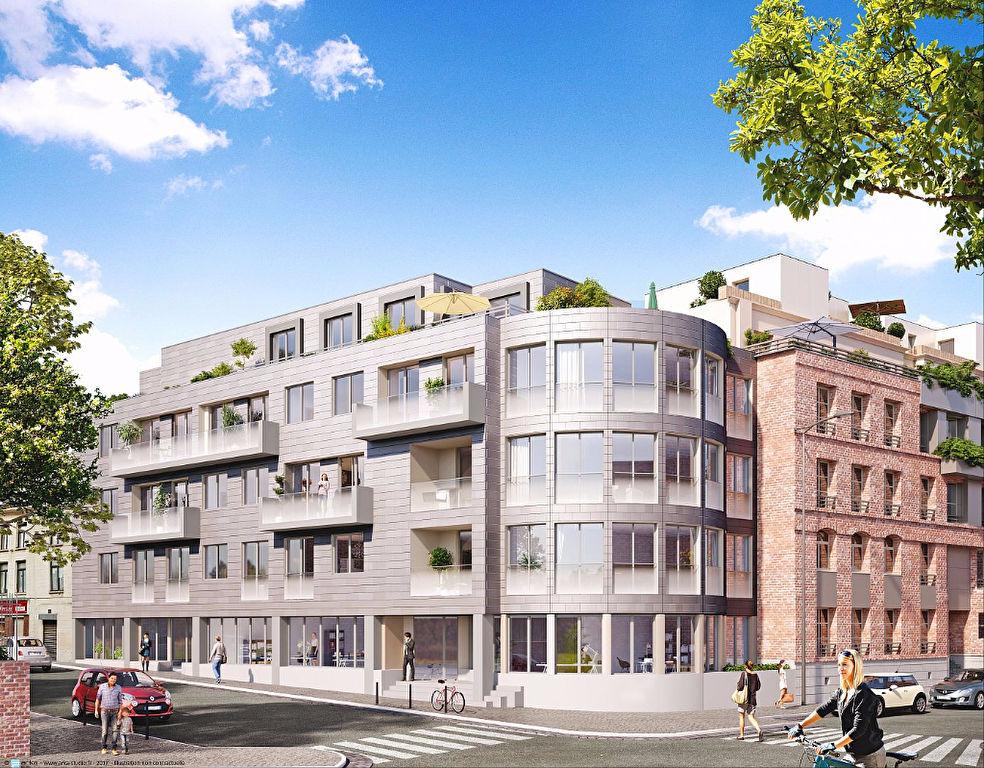 Vente appartement 59000 Lille - VIEUX LILLE - T3 neuf, éligible PINEL