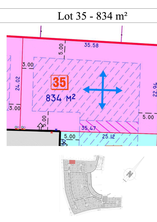 PROXIMITÉ HERLIES TERRAIN A BÂTIR DE 834M²   DDTT191