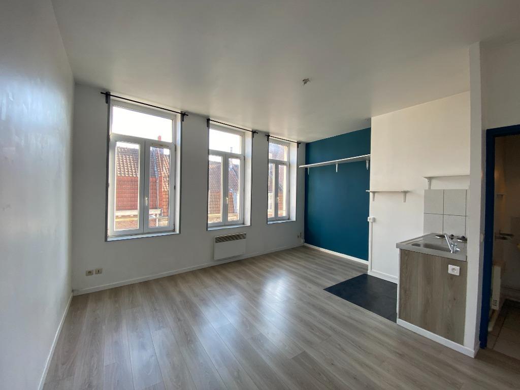 Location appartement 59000 Lille - Studio non meublé de 21,92m² - Lille Sébastopol