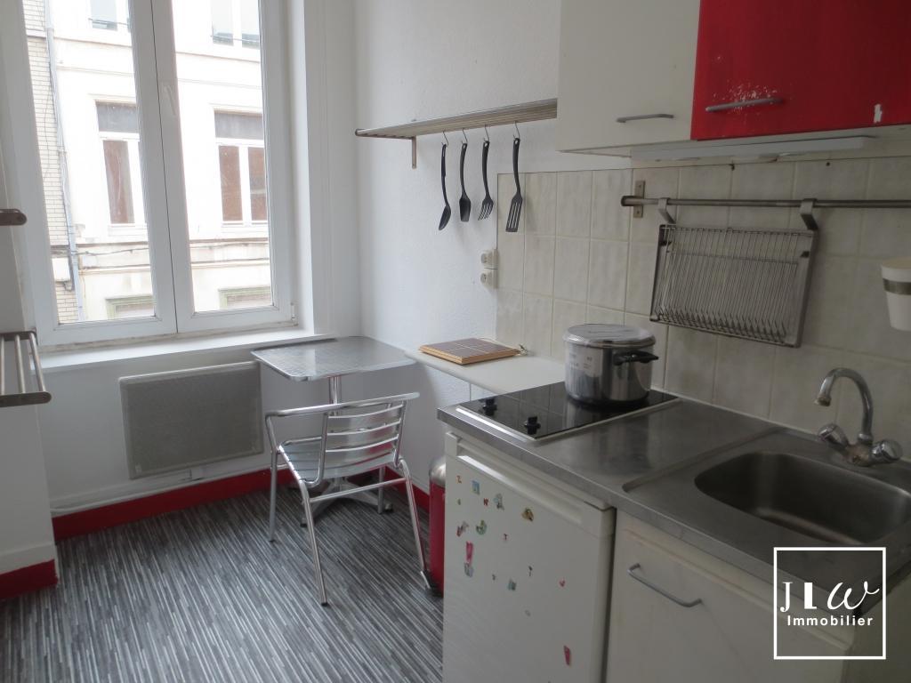 Location appartement 59000 Lille - Lille - Wazemmes 2 pièces meublé 18m²
