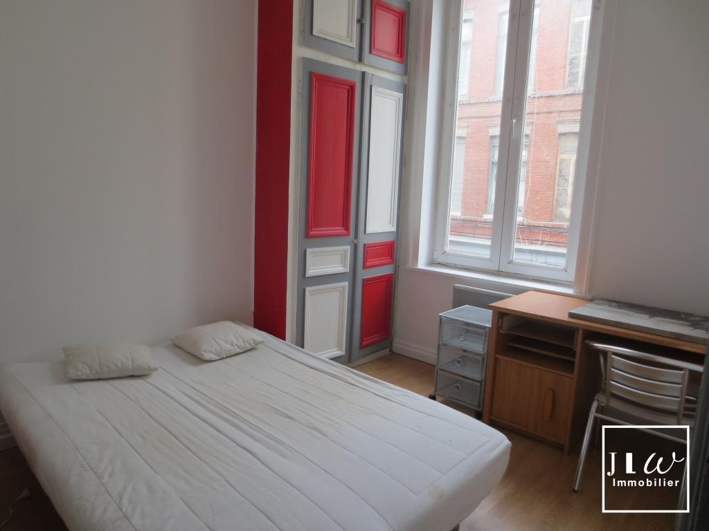 Lille - Wazemmes 2 pièces meublé 18m²