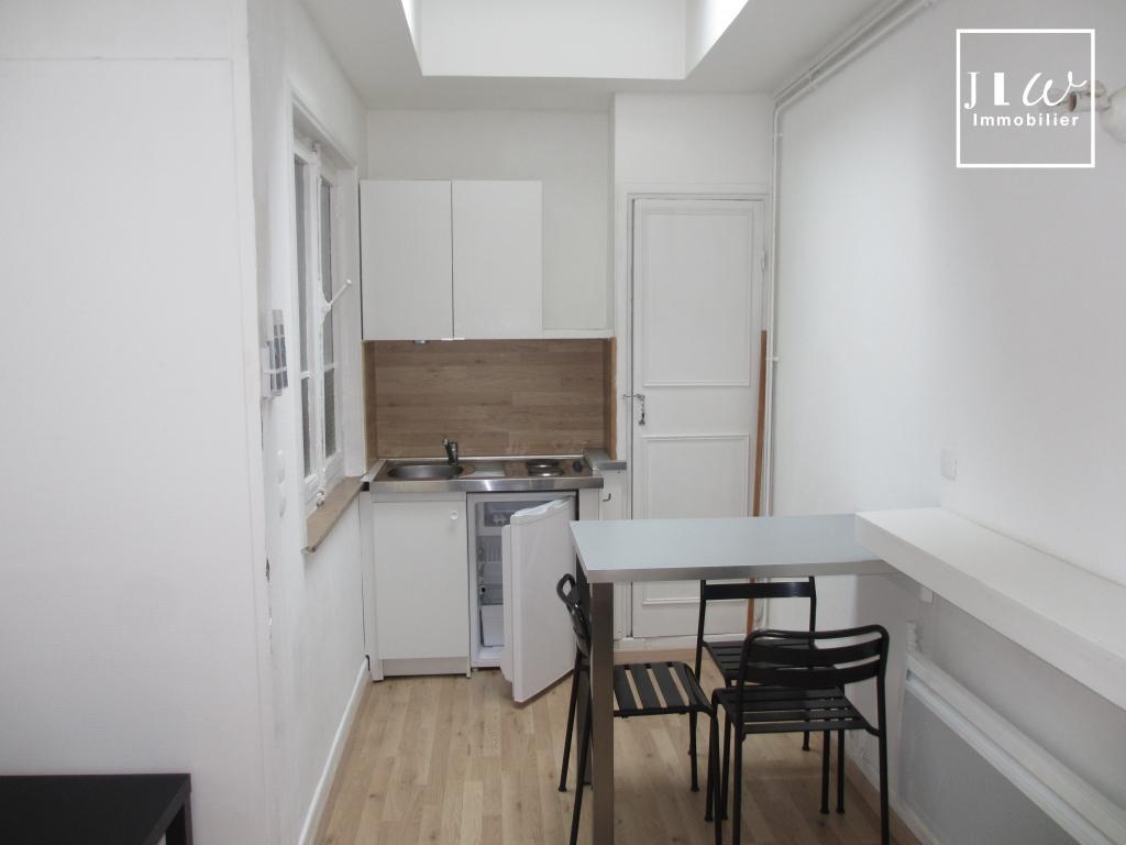 Studio meublé de 22m² secteur République Saint Michel