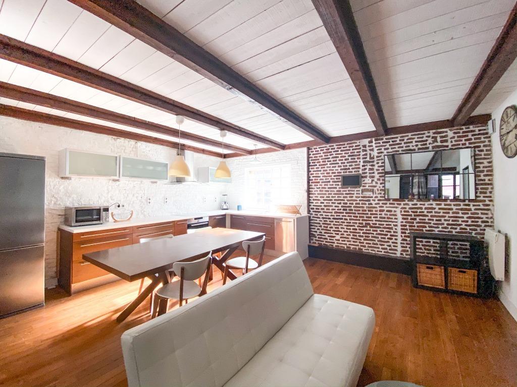 Location appartement 59000 Lille - Vieux-Lille - T2 meublé de 47.29m2