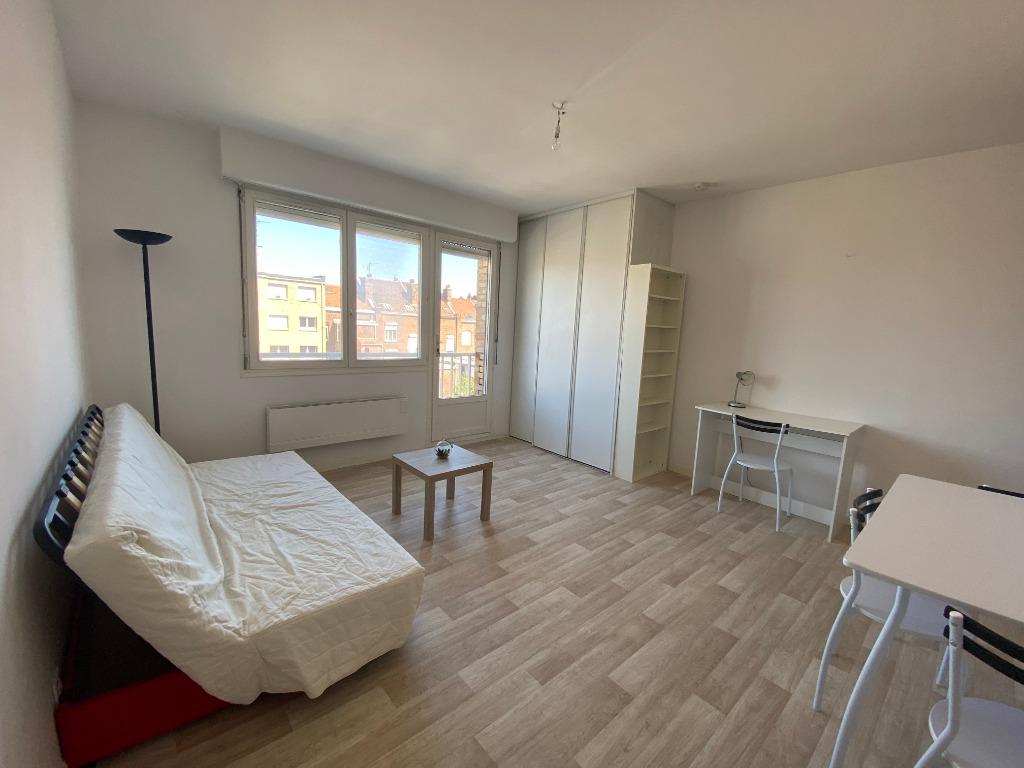 Location appartement 59000 Lille - Cormontaigne - Studio meublé  - 25,63m²