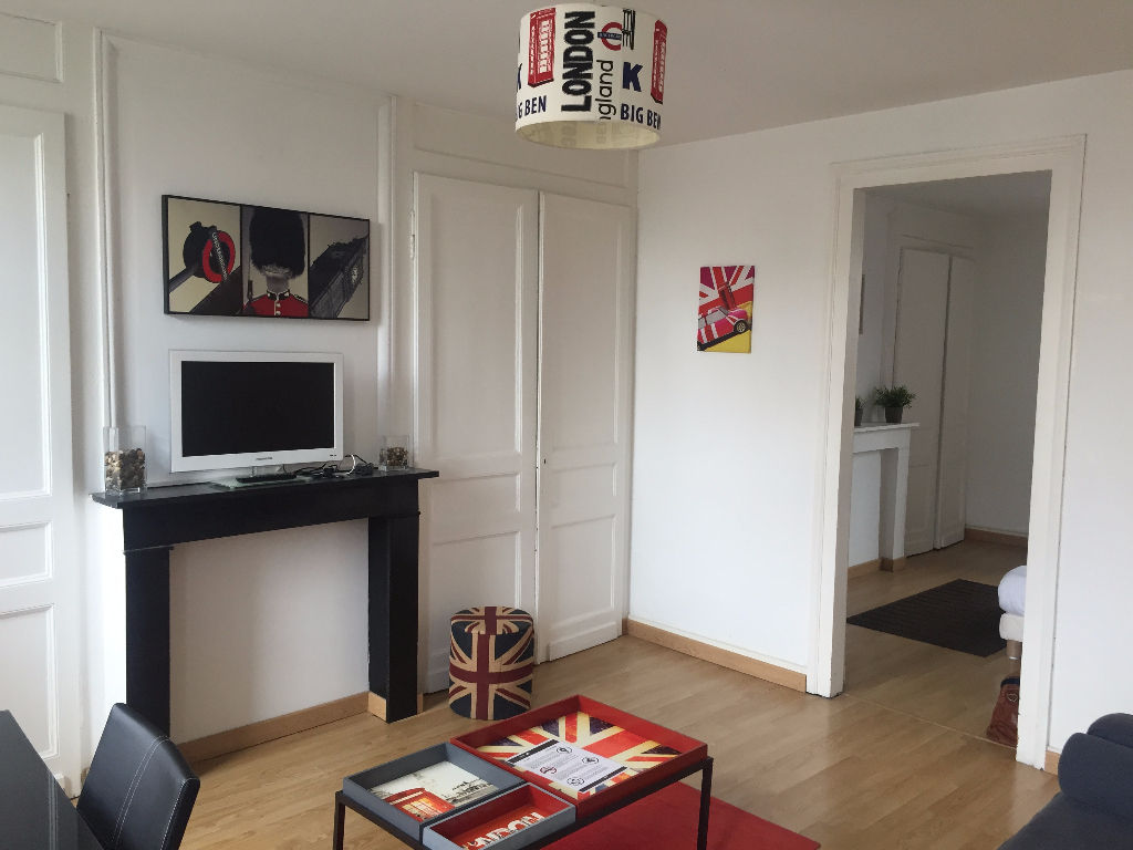 Location appartement 59000 Lille - Lille Sébastopol - T2 meublé de 37m²