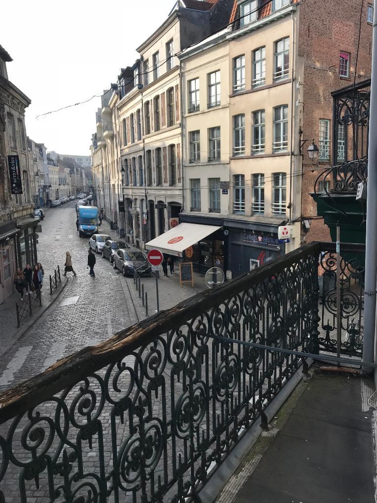 Type 1 Bis meublé de 28m² avec balcon - Secteur Vieux Lille